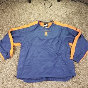 Puma XL Jacket Windbreaker Men's Illinois Chicago